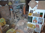 This little tile shop is crammed with hand made and hand finished objects ideal as presents